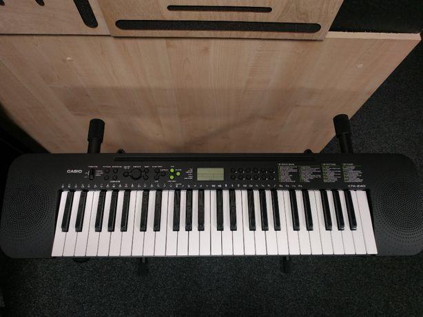 Casio CTK 240 - keyboard, nowy, gwarancja 24 mies.