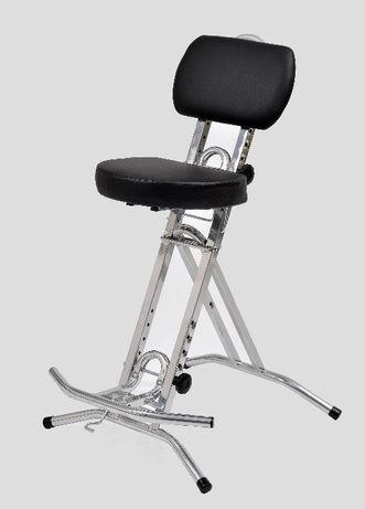 Krzesło dla gitarzysty bardzo wygodne