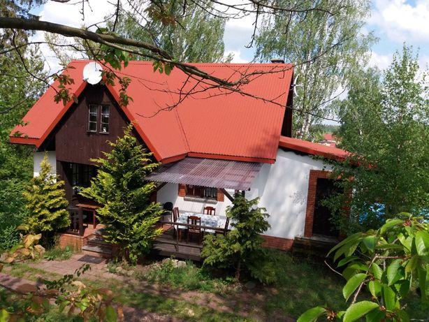 Dom na kaszubach z kominkiem
