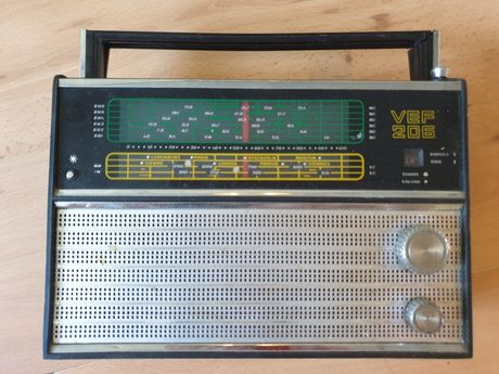 Stare Radio Tento  vef 206