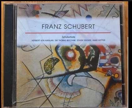 CD triplo: Schubert - Lieds