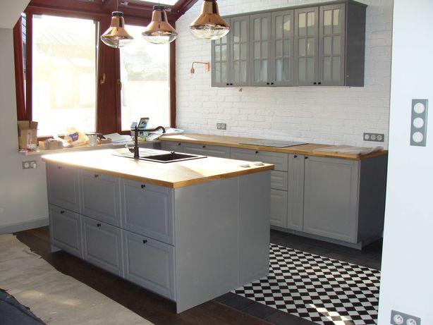 Kuchnie Ikea Montaż meble kuchenne Ikea, instalacja Agd