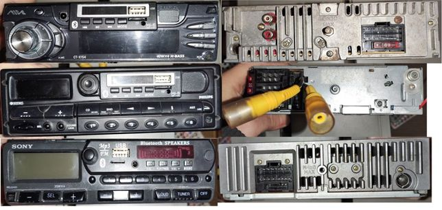 Переделка авто-магнитол: USB, Bluetooth, SD, AUX