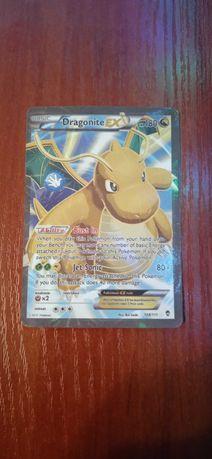 Karty Pokemon MLucario,DragoniteEX,LugiaEX.