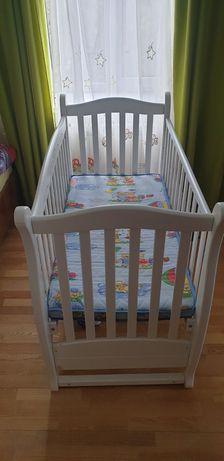 Кровать детская Верес с ящиком для белья с матрацом
