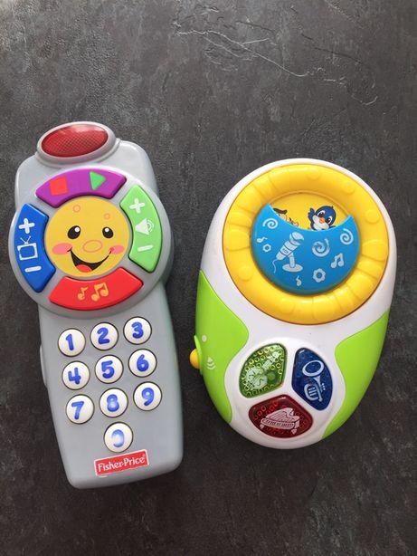 Интерактивный пульт Fisher price музыкальная игрушка