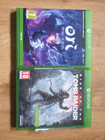 Ori And The Wild Of The Wisps + Rise Of The Tomb Raider XBOX ONE