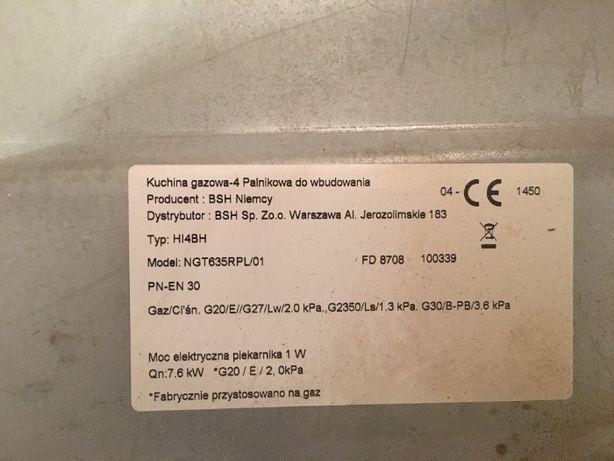 Płyta gazowa NGT635RPL/01