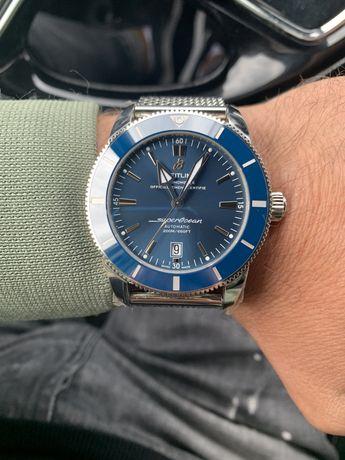 Breitling superocean heritage II b20 niebieski