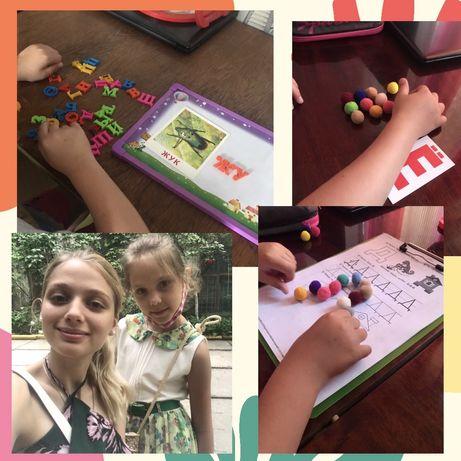 Няня, логопед, подготовка к школе