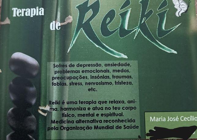 Tratamentos de Reiki, massagens energéticas e relaxamento