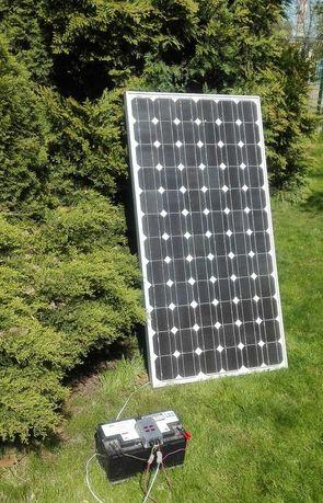 Panele solarne fotowoltaiczne do ładowania akumulatora mniejszy wymiar