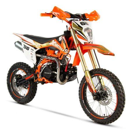 cross XMOTOS XB-66 125cc najmocniejszy GOLD EDITION Xshock ProMotor