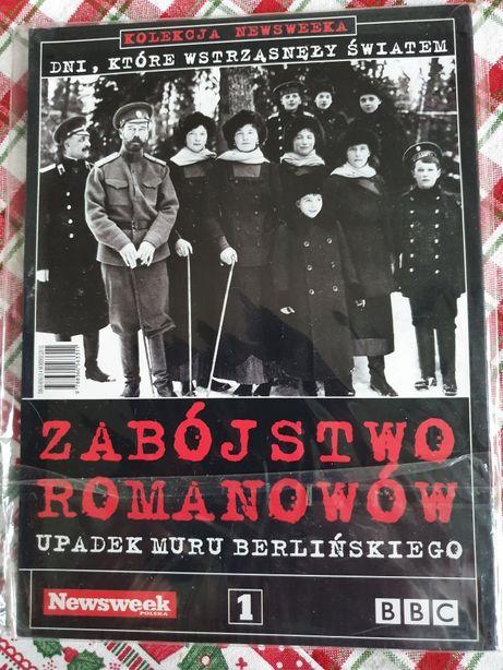 2 DVD żabójstwo Romanowów, Upadek muru berlińskiego.