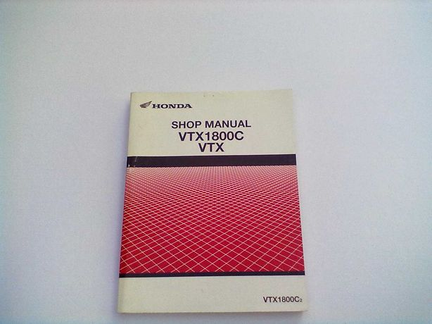Manual Técnico Oficial Honda Shadow VTX 1800  C