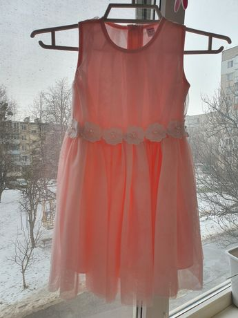 Ніжна сукня платье на дівчинку 12-18м