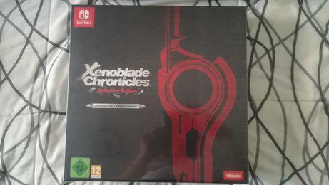 Xenoblade Chronicles Definitive Edition (Edição de Colecionador)