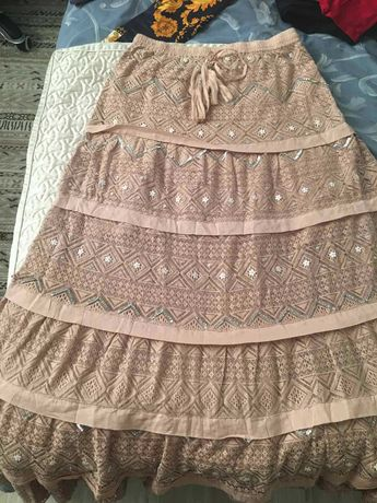 Женская длинная юбка