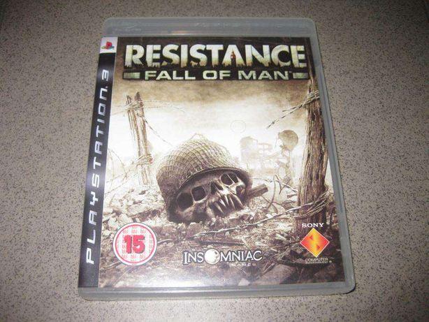 """Jogo PS3 """"Resistance- Fall Of Man (Completo e Novo)"""