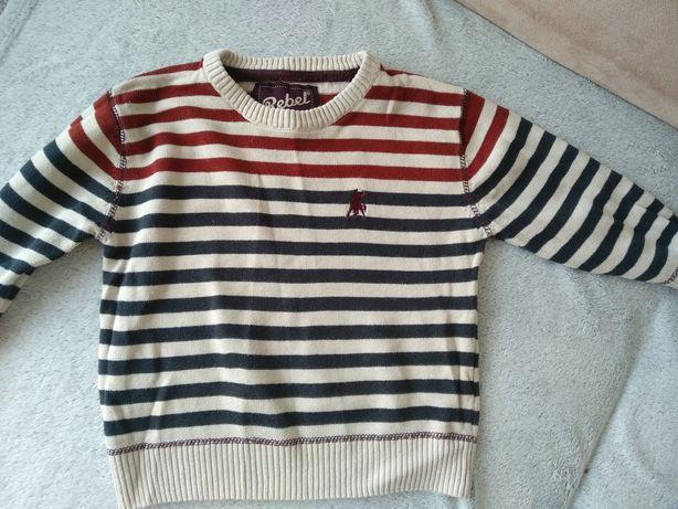Sweter sweterek 98 rebel