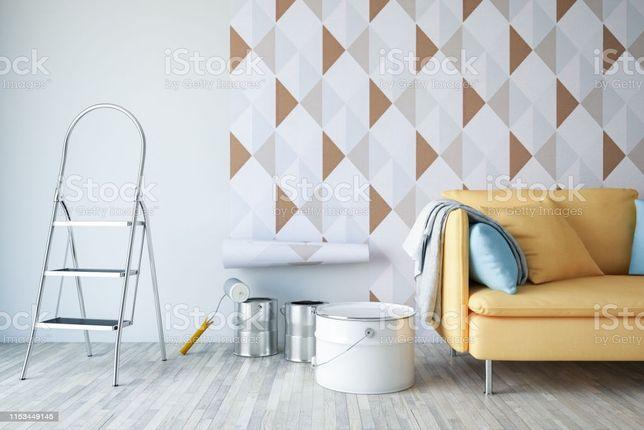 Colagem de papel parede