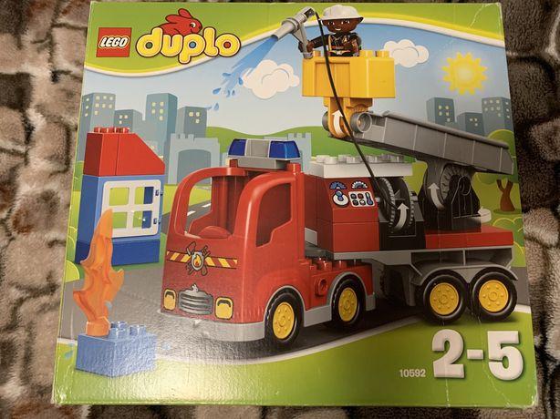 Конструктор LEGO Duplo Пожарный грузовик 10592