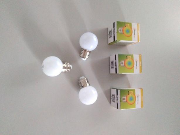 Lampada led RGB 230V 1W (3unidades) + 1 de oferta sem caixa.