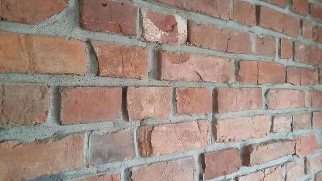 Stare cegły płytki z cegły cegła cięta