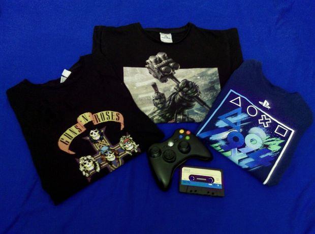 PlayStation, Marvel, Guns'n'Roses (футболки)