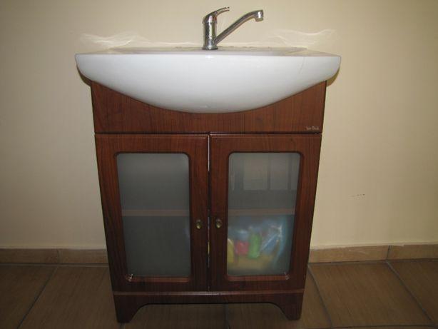 szafka po umywalkę z umywalką