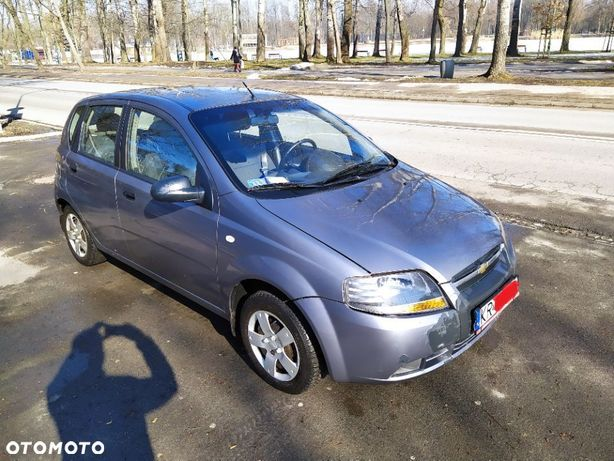 Chevrolet Aveo Chevrolet Aveo 1.2 Benzyna + Gaz LPG