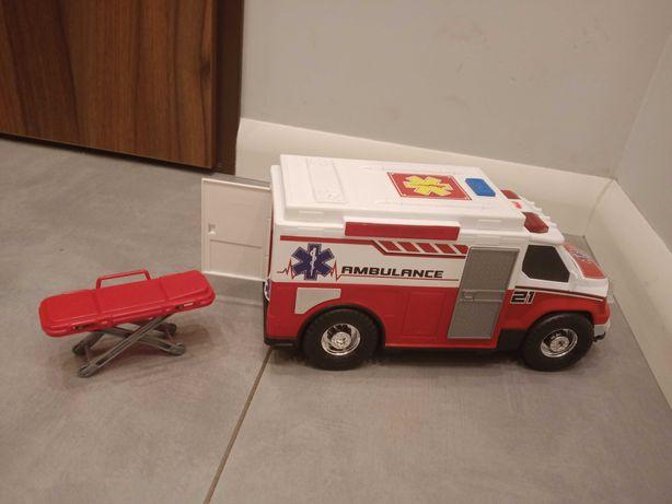 Zabawka auto ambulans,dlugosc 33cm cena 40 zl