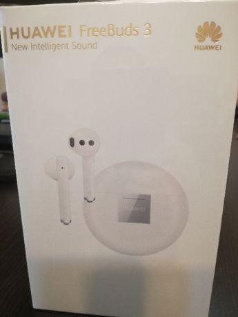 Nowe słuchawki HUAWEI FreeBuds 3 zafoliowane kupione w Marcu