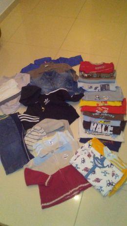 ZESTAW ubrań dla chłopca r. 86 +gratisy