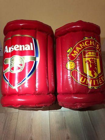 Manchester lub Arsenal gadżety dmuchane lodówki na napoje