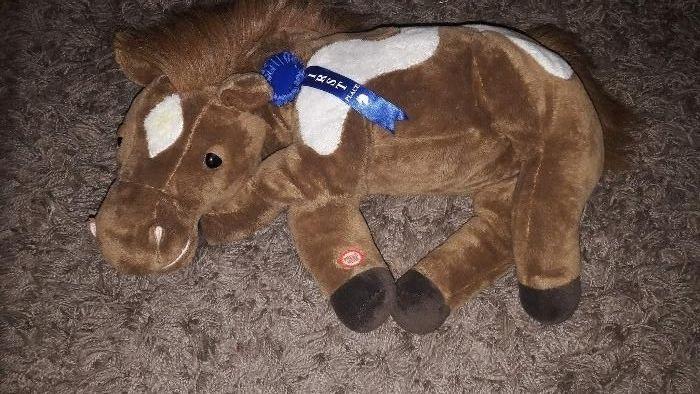 Maskotka pluszowa duża koń