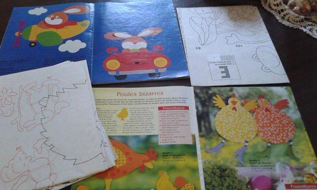 Conjunto de revistas Ideias criativas