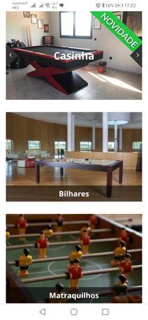 Snooker e máquina diversão