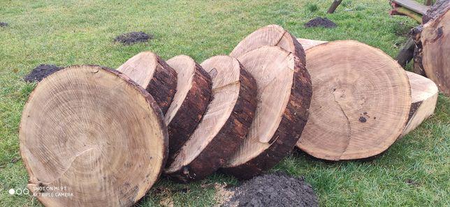 Topola plastry na stolik, drewno
