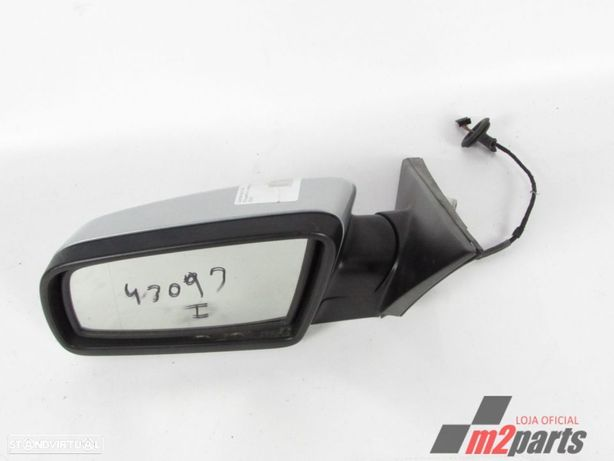 Espelho retrovisor Cinza Prata Esquerdo BMW 5 (E60)/BMW 5 Touring (E61) Semi-Nov...