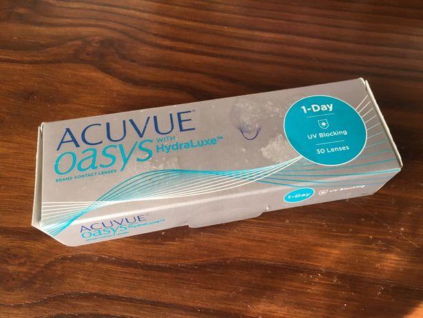 Lentes de Contacto Acuvue Oasys 1-Day ( D -0.50 BC 8.5 )