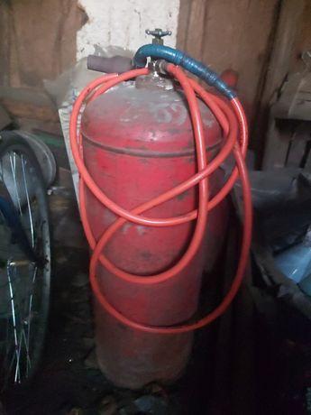 Газовий  балон  пустий