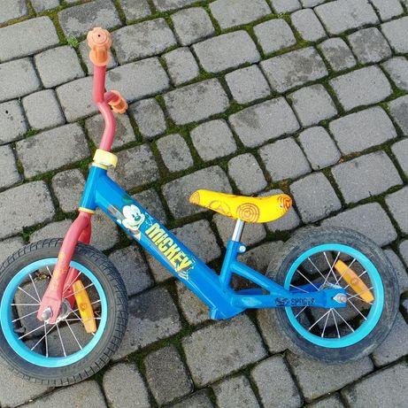 Велобег беговел надувні колеса микки
