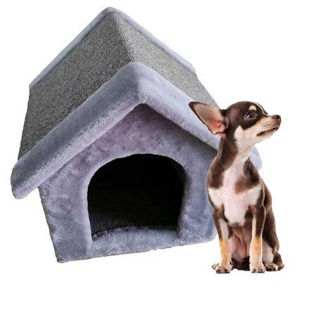 Лежанка будка из меха для собаки . Ручная работа. Венеция-217