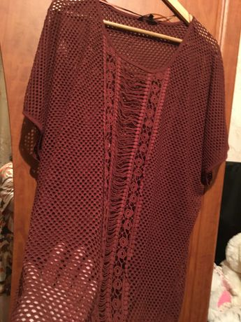 Блузы сетка 50-52 р-р