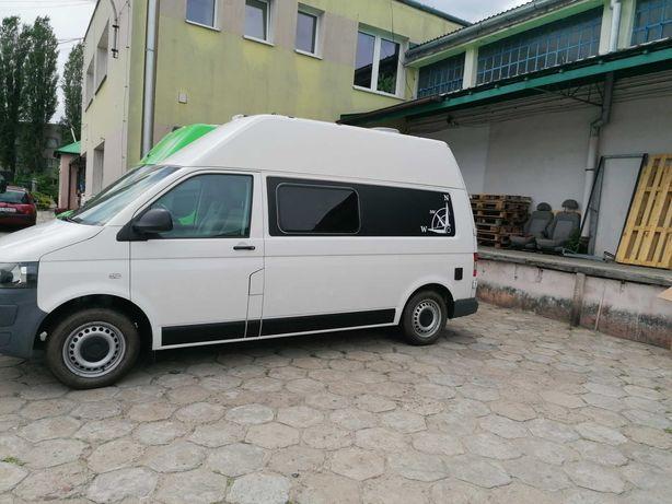VW Transporter T5, kamper, długi, wysoki