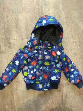 Курточка для мальчика 4-5 лет