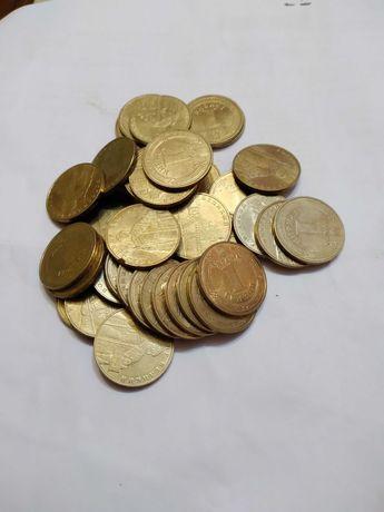Монеты 1 гривна 2006-2014 г