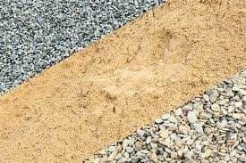Щебень всех фракций, песок речной и овражный, подсыпка