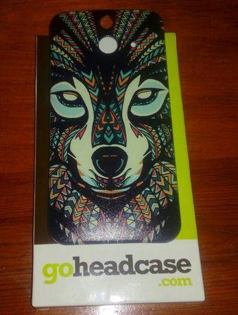 Etui obudowa case wilk HeadCase nowe HTC ONE E8